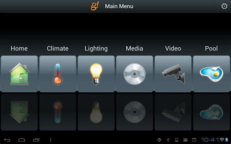 Elan 8 Android Apps On Elan S G Controller Connects And Controls Home Devices