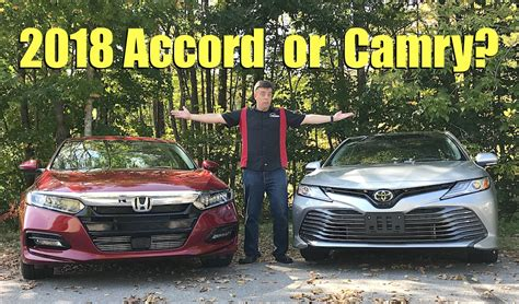 Honda Accord Compared To Toyota Camry Surprising Ways That Make The New 2018 Honda Accord