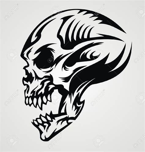 skeleton tribal tattoo tatoeages designs zoeken skulls