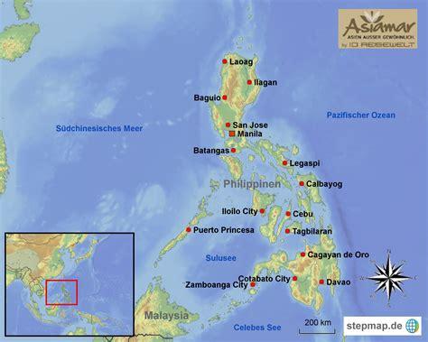 wo liegen die philippinen philippinen informationen philippinen reisetipps