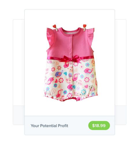 wholesale baby clothes to sell with oberlo for free