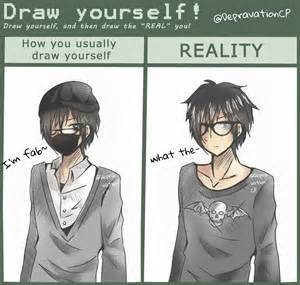 Draw Yourself Draw Yourself Meme Depravationcp By Depravationcp On