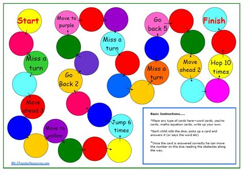printable board games for kindergarten alma boheme create your own board game creative writing