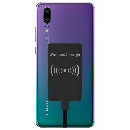huawei p ultra thin qi wireless charging adapter
