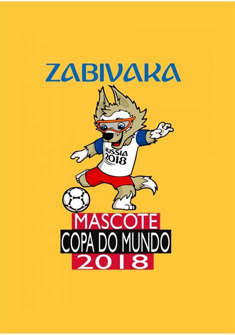 copa do mundo brasil mascote 2018