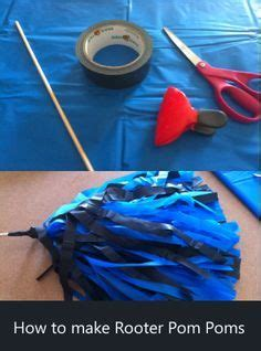 How To Make Crepe Paper Pom Poms - diy crepe paper pom poms for day crepe