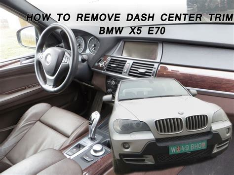how to remove dash panel from a 2012 buick enclave bmw x5 e70 how to remove the dash center panel youtube