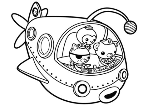 octonauts coloring pages pdf octonauts off to adventure coloring page free printable