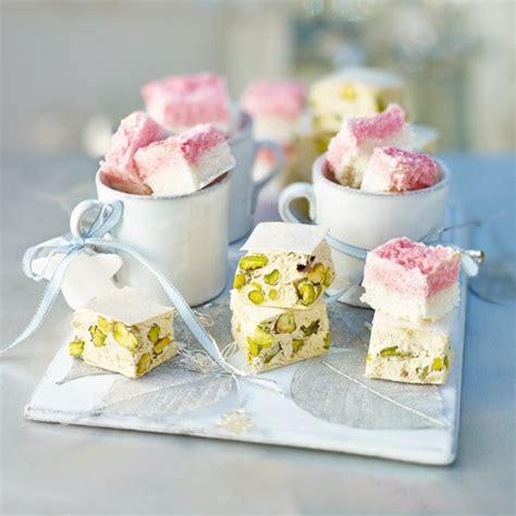 best nougat recipe pistachio and honey nougat housekeeping