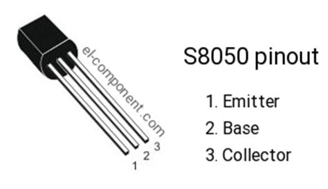 equivalent transistor of 8050 s8050 n p n transistor complementary pnp replacement pinout pin configuration substitute