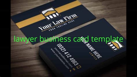 business card lawyer template psd lawyer business card template