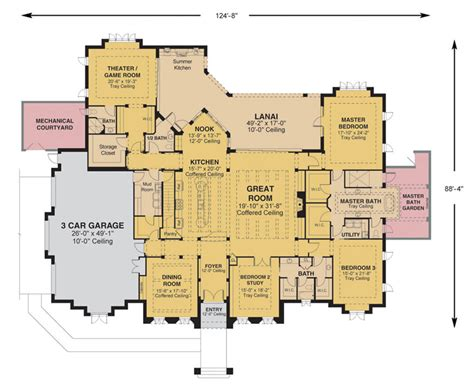 custom home floor plan ocala fl