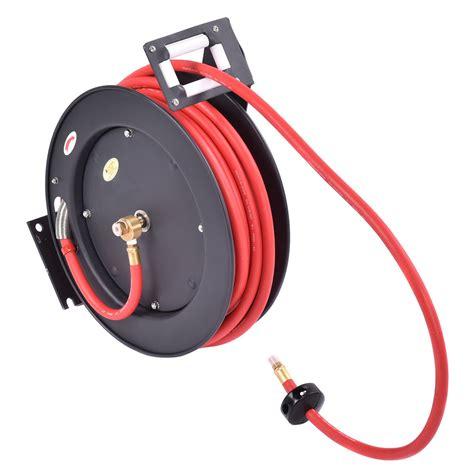 3 8 quot x 50 auto rewind retractable air hose reel compressor 300 psi us new ebay