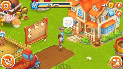 Mesin Hayday lets farm peternakan kusus android