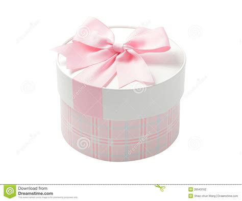 Good Wholesale Christmas Ribbon #5: Cute-pink-round-gift-box-26543152.jpg