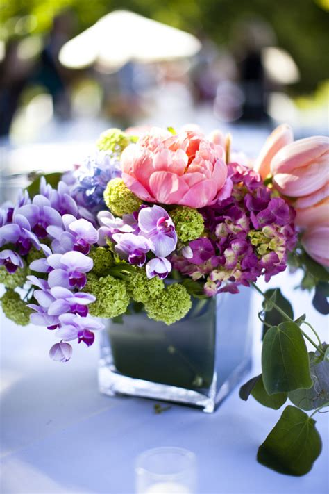 Pink Green Purple Centerpiece Elizabeth Anne Designs Pink And Purple Centerpieces