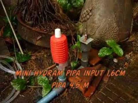 Pompa Air Mini Tanpa Listrik bahan pompa hidram doovi