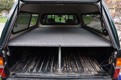 truck bed sleeping platform truck bed platform cing pinterest