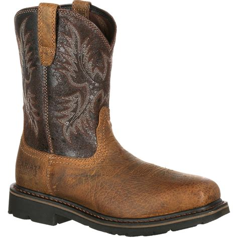 puncture resistant boots ariat wide square toe steel toe puncture resistant