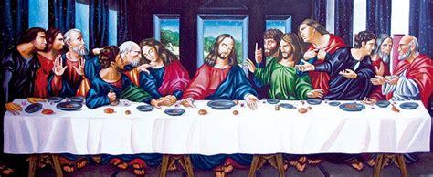 la ultima cena de jesus y sus discipulos este cuadro trata de la ultima cena de jesus se se encuentra en el museo del prado madrid en el