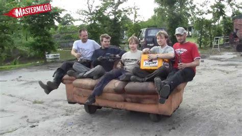 motorized couch motorized sofa testdrive youtube
