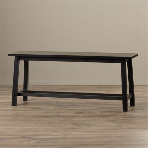 bench entryway zipcode design wood entryway bench reviews wayfair