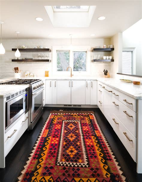 kitchen designs geometric rug gorgeously minimal kitchens with home flooring trends 2018 the home flooring pros guide