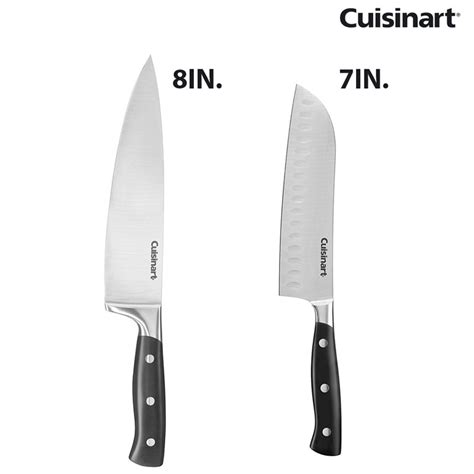 cuisinart kitchen knives cuisinart cutlery 7in santoku or 8in chef s knife 13 deals