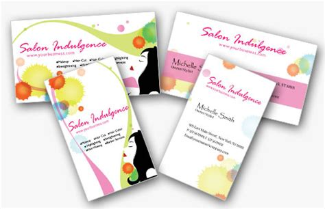 free beautician business cards templates free business card templates in photoshop format