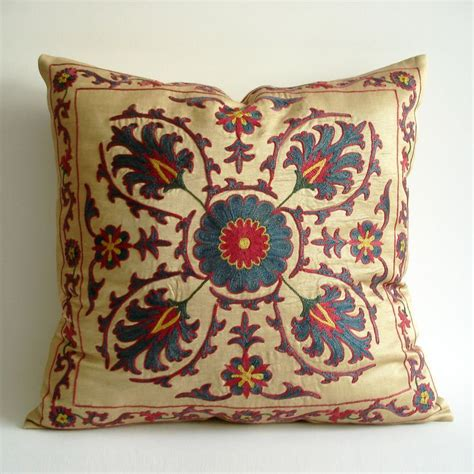 uzbek hand embroidered silk suzani one kings lane 37 best images about suzani on pinterest felt art kings
