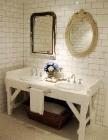Antique Bathroom Ideas vintage table for bathroom vanities idea home decor