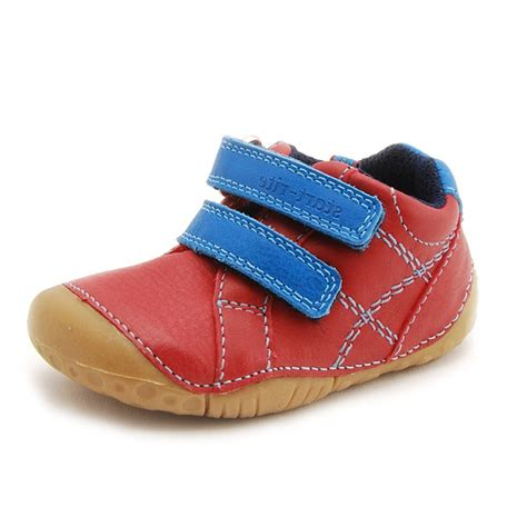 kids shoes fitted childrens footwear by start rite baby milan red leather boys first shoe