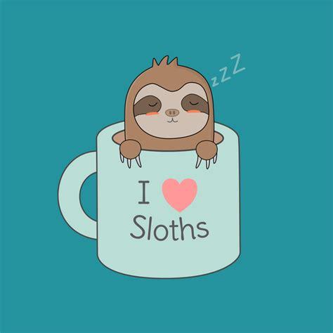 Animal Mug Sloth In Coffee Is Cute And Kawaii Neatoshop