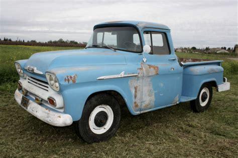 1958 Chevrolet Truck by 1958 Chevrolet California Truck Half Ton
