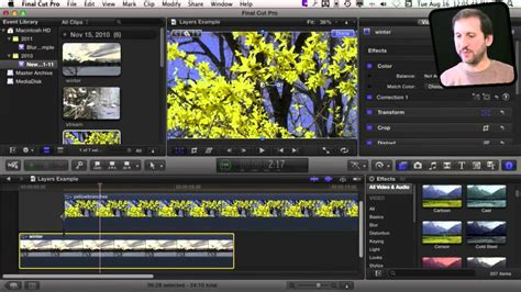 final cut pro youtube video layering video in final cut pro x macmost now 593 youtube