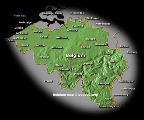belgium rivers map belgium geography new zone