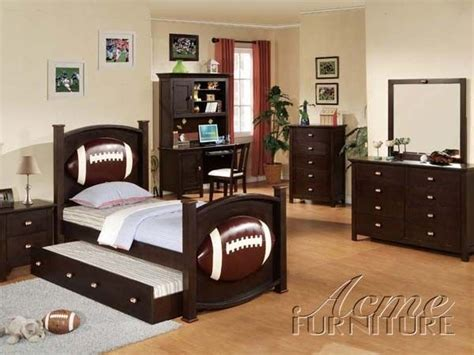 football youth bedroom set room ideas