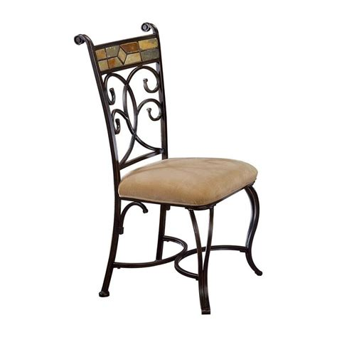 Hillsdale Dining Chairs Shop Hillsdale Furniture Set Of 2 Pompei Traditional Side Chairs At Lowes