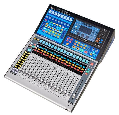 Mixer Gx 24 presonus studiolive 16 series iii thomann united states