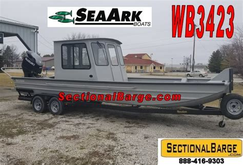 used seaark work boat wb3423 350 hp seaark 174 work boat