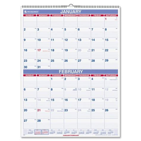 2 month per page calendar printable search results