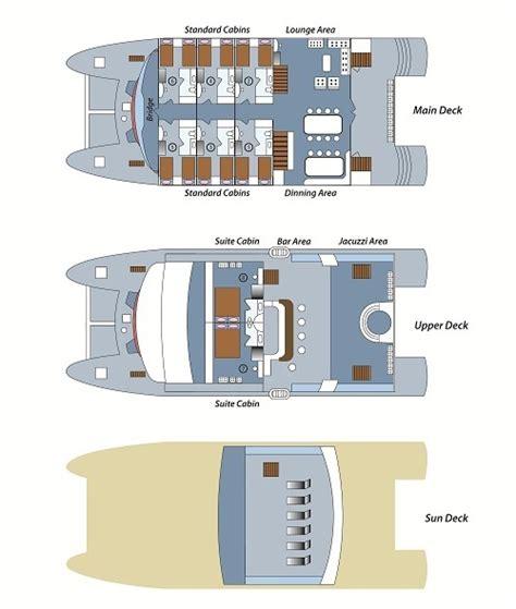 catamaran deck plans anahi galapagos deck plan anahi catamaran deck plan