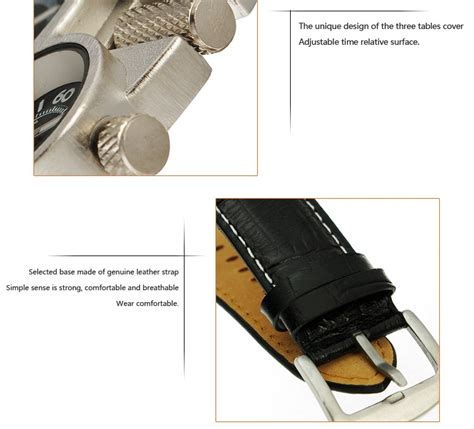 Oulm Mechanical Analog Quartz Stainless Steel T3010 oulm mechanical analog quartz leather band fashion