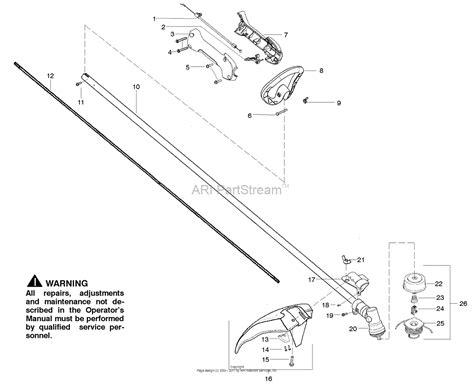 wacker fuel line diagram poulan mx550 gas trimmer parts diagram for handle and controls