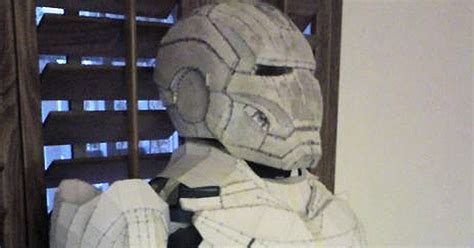 How To Make A Paper Iron Suit - iron suit iron suit paper crafts in reality