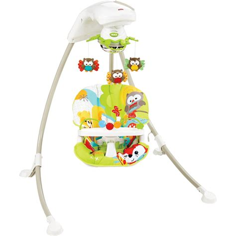 fisher price bouncers and swings fisher price woodland friends cradle swing swings