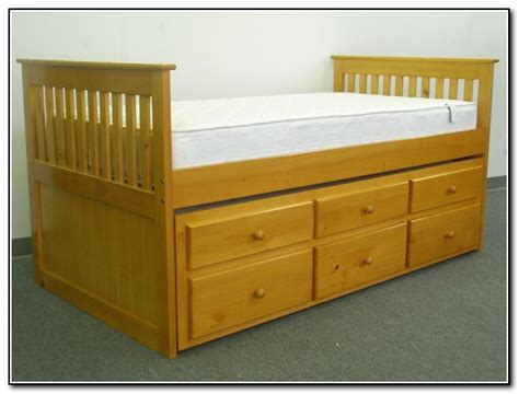 captains bed with trundle captains bed with trundle and drawers beds home