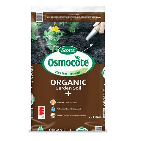 Organic Garden Soil by Osmocote 25l Organic Garden Soil Improver Bunnings Warehouse