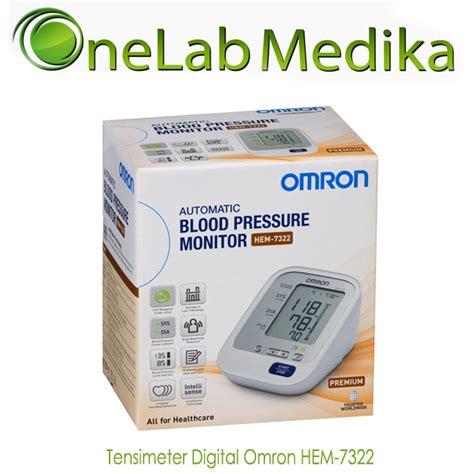 tensimeter digital omron hem 7322 onelab medika