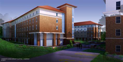 ole miss housing university of mississippi residence hall complex bl harbert international